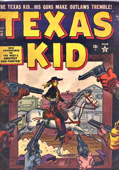 Texas Kid 10 Cover Image