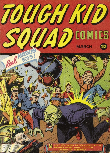 Tough Kid Squad Comics 1 Cover Image