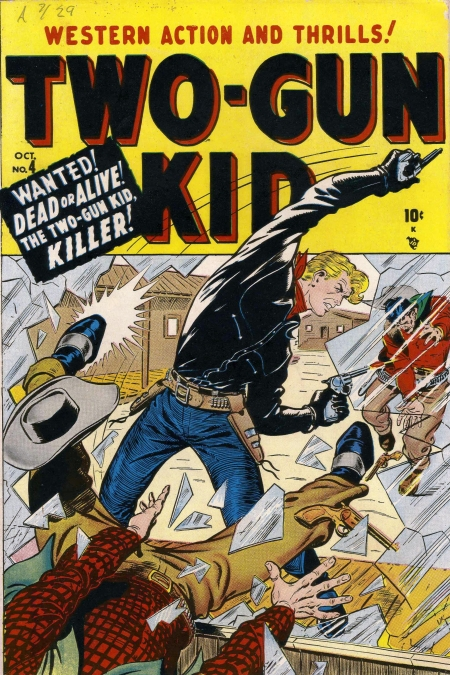 Two-Gun Kid 4 Cover Image
