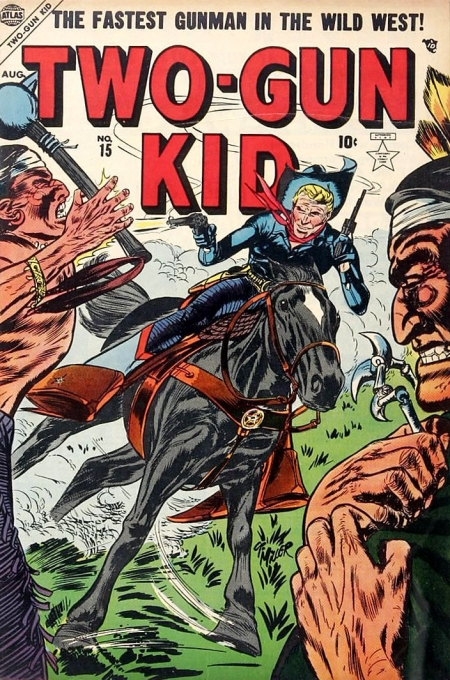 Two-Gun Kid 15 Cover Image