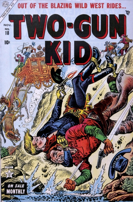 Two-Gun Kid 18 Cover Image