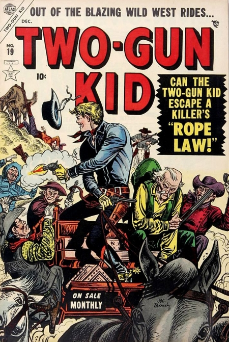 Two-Gun Kid 19 Cover Image