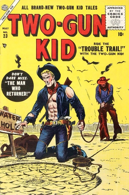 Two-Gun Kid 23 Cover Image