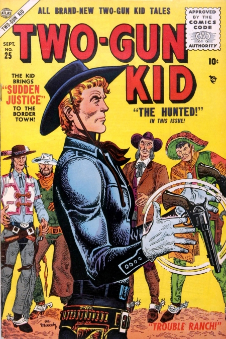 Two-Gun Kid 25 Cover Image
