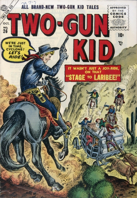 Two-Gun Kid 26 Cover Image