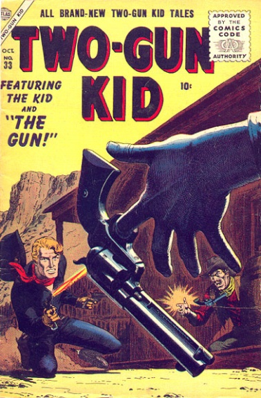 Two-Gun Kid 33 Cover Image