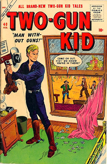 Two-Gun Kid 40 Cover Image