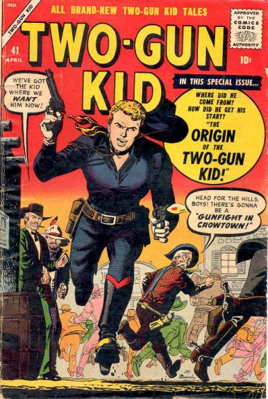 Two-Gun Kid 41 Cover Image