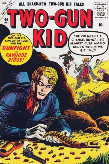 Two-Gun Kid 44 Cover Image