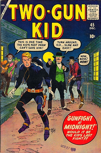Two-Gun Kid 45 Cover Image
