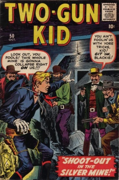 Two-Gun Kid 50 Cover Image