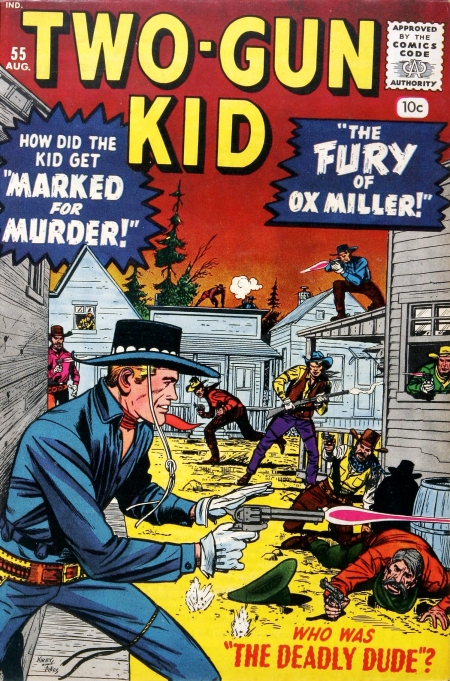 Two-Gun Kid 55 Cover Image