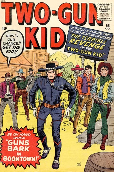 Two-Gun Kid 56 Cover Image