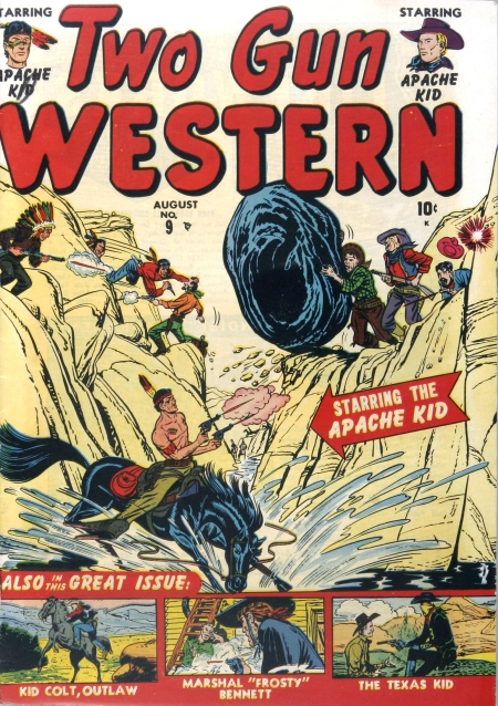 Two Gun Western 9 Cover Image