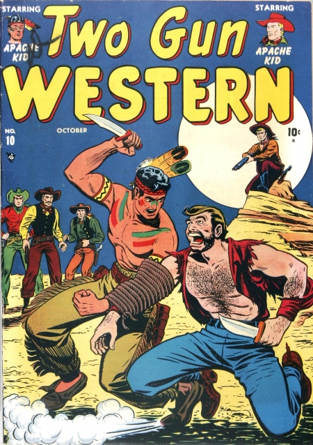 Two Gun Western 10 Cover Image