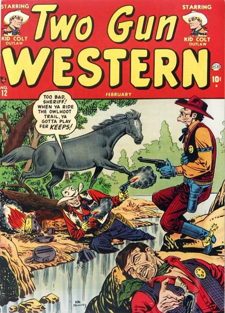 Two Gun Western 12 Cover Image