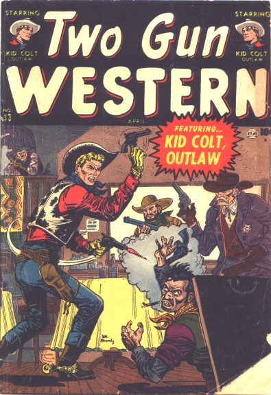 Two Gun Western 13 Cover Image