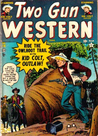 Two Gun Western 14 Cover Image
