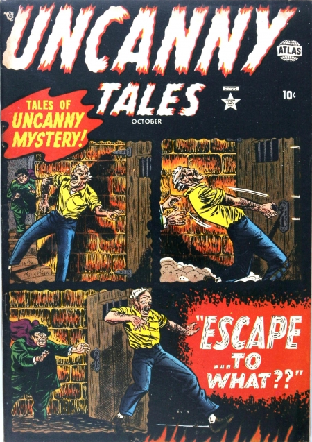 Uncanny Tales 3 Cover Image