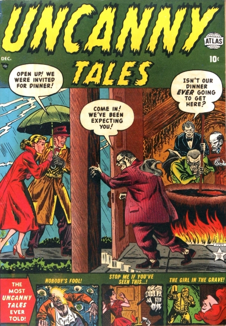 Uncanny Tales 4 Cover Image
