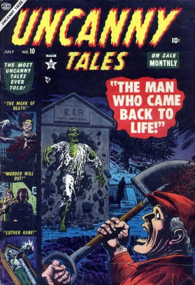 Uncanny Tales 10 Cover Image