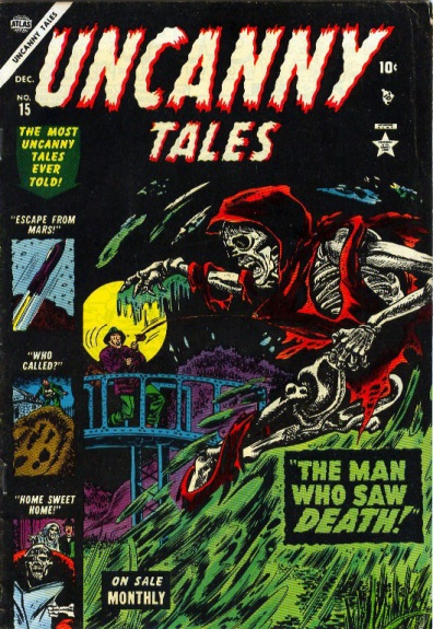 Uncanny Tales 15 Cover Image