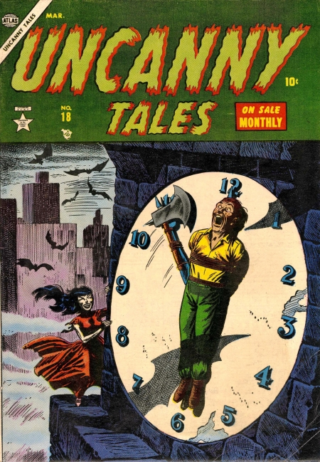 Uncanny Tales 18 Cover Image