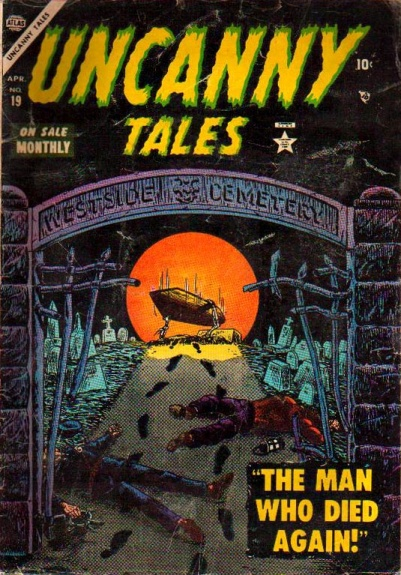 Uncanny Tales 19 Cover Image