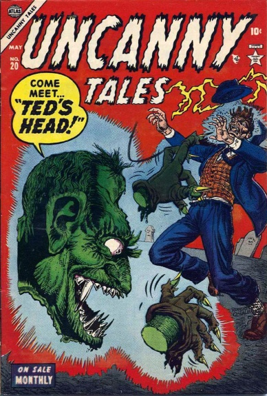 Uncanny Tales 20 Cover Image
