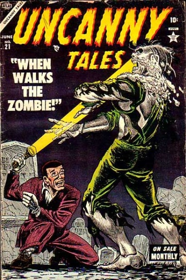 Uncanny Tales 21 Cover Image
