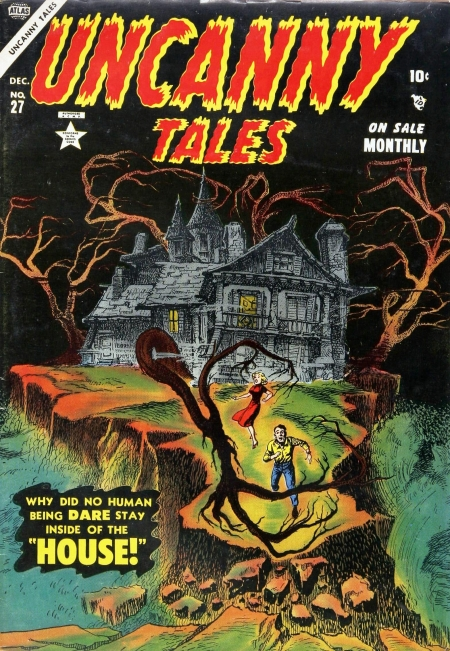 Uncanny Tales 27 Cover Image
