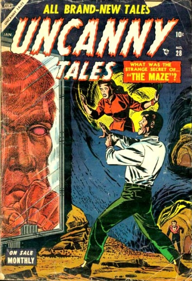 Uncanny Tales 28 Cover Image