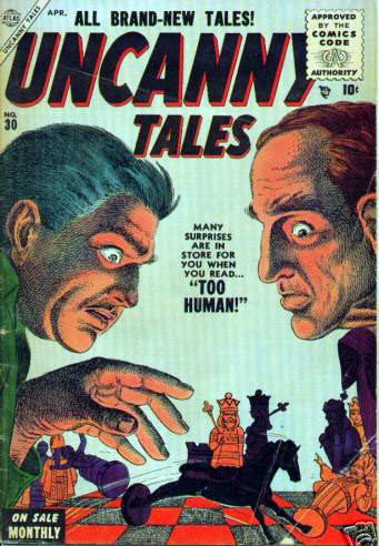 Uncanny Tales 30 Cover Image