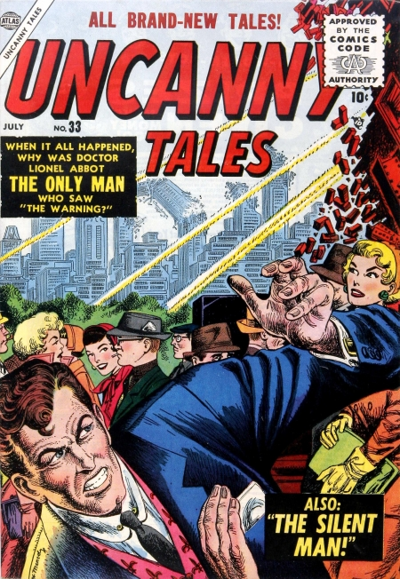 Uncanny Tales 33 Cover Image