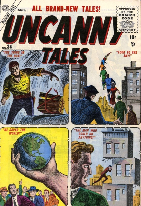Uncanny Tales 34 Cover Image