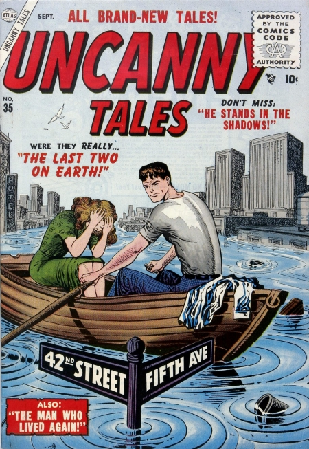 Uncanny Tales 35 Cover Image