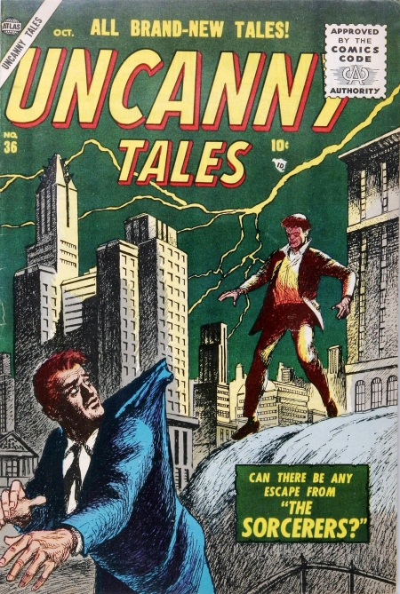 Uncanny Tales 36 Cover Image