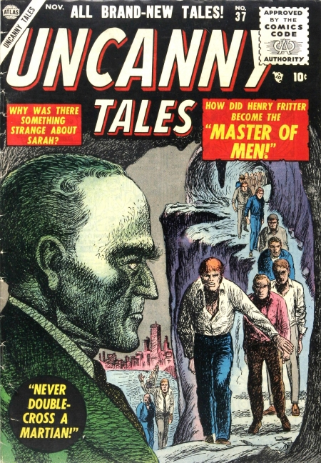 Uncanny Tales 37 Cover Image
