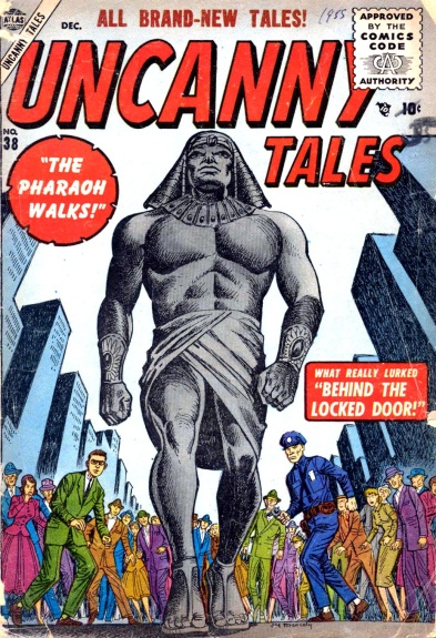 Uncanny Tales 38 Cover Image