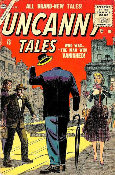 Uncanny Tales 40 Cover Image
