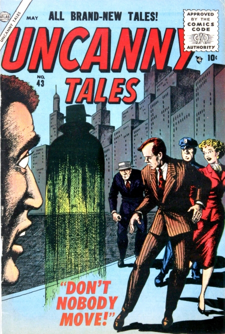 Uncanny Tales 43 Cover Image