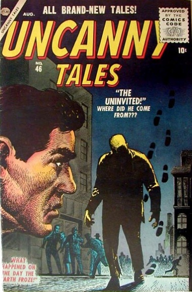 Uncanny Tales 46 Cover Image