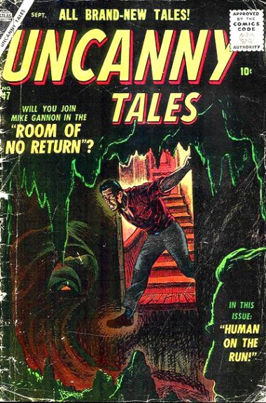 Uncanny Tales 47 Cover Image