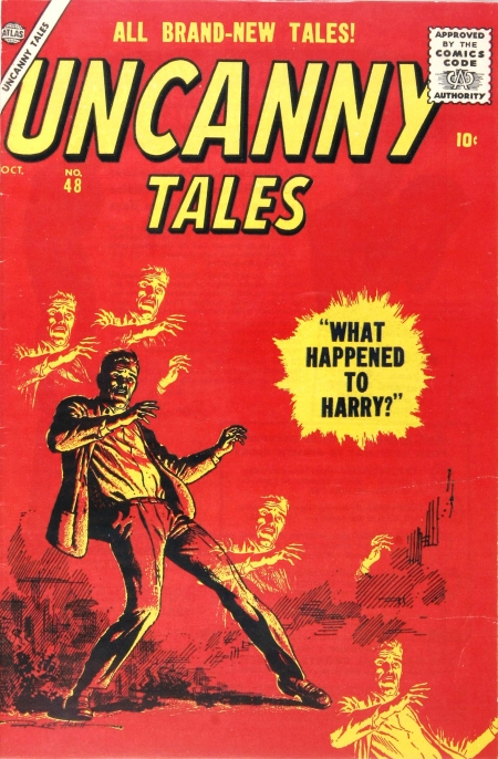 Uncanny Tales 48 Cover Image