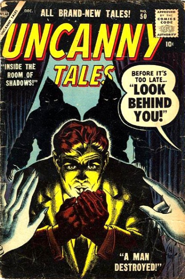 Uncanny Tales 50 Cover Image