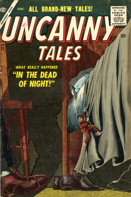 Uncanny Tales 51 Cover Image