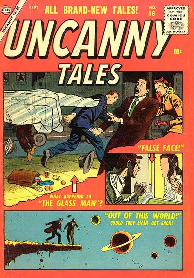 Uncanny Tales 56 Cover Image