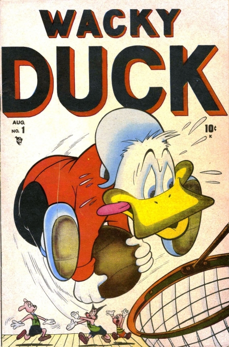 Wacky Duck  1 Cover Image