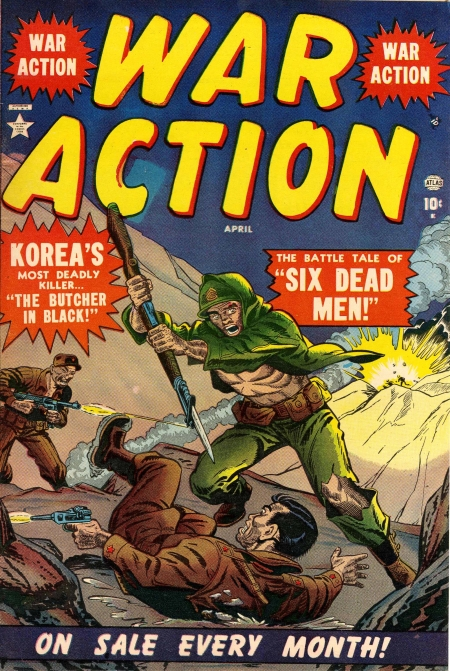 War Action 1 Cover Image