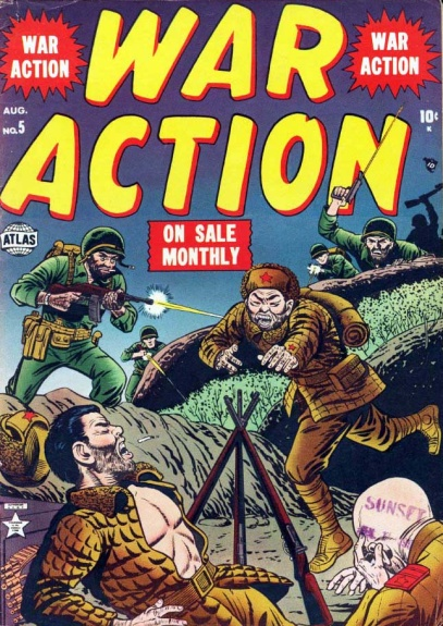 War Action 5 Cover Image
